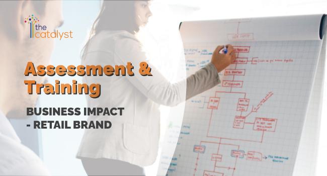 Assessment & Training – Business Impact – Retail Brand