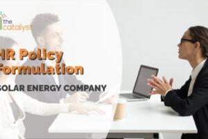 HR Policy Formulation – Solar Energy Company